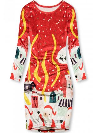 Rochie roșie Christmas Time