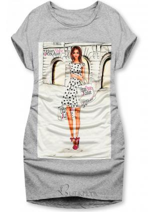Rochie gri Urban Couture