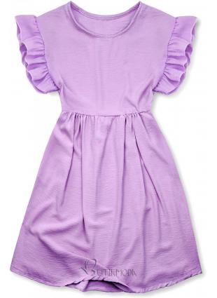 Rochie de vară mov din viscoză