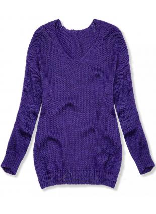 Pulover tricotat mov