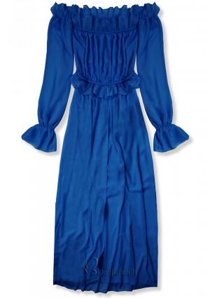 Rochie de vară lungă albastru cobalt
