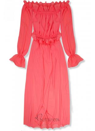 Rochie de vară lungă corai
